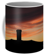 Chimney And Sunset Coffee Mug