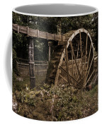 China Clay Waterwheel Coffee Mug