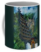 Chinese Hanging Temple Coffee Mug