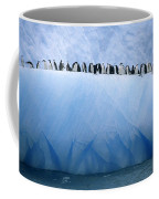 Chinstrap Penguins Lined Coffee Mug