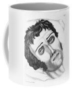 Cholera Victim, 1831 Coffee Mug