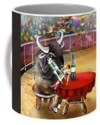 Chop Sticks For A Bull Coffee Mug