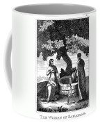 Christ & Woman Of Samaria Coffee Mug