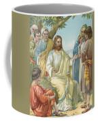 Christ And His Disciples Coffee Mug