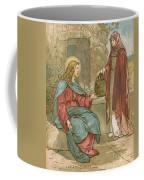 Christ And The Woman Of Samaria Coffee Mug