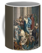 Christ At The Temple Coffee Mug