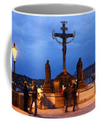 Christ Crucifixion Sculpture Coffee Mug