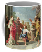 Christ Preaching In The Temple Coffee Mug