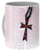 Christian  Cross Coffee Mug by Cynthia Amaral