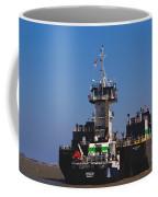 Christiana Oil Tanker Sitting In Galveston Tx Coffee Mug