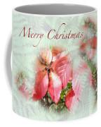 Christmas Card - Virginia Creeper In Autumn Colors Coffee Mug