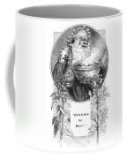 Christmas Card, 1879 Coffee Mug