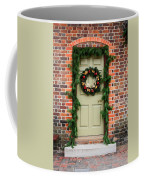 Christmas Door Coffee Mug
