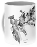 Christmas Holly Coffee Mug