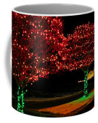 Christmas Lights Red And Green Coffee Mug