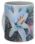 Christmas Lily Coffee Mug
