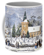 Christmas Morning, 1837 Coffee Mug