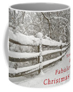 Christmas Path Coffee Mug