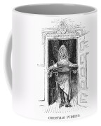 Christmas Pudding, 1882 Coffee Mug