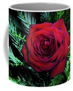 Christmas Rose Coffee Mug by Mariola Bitner