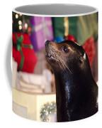 Christmas Sea Lion Coffee Mug