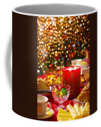 Christmas Table Set Coffee Mug by Carlos Caetano