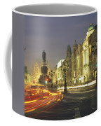 Christmas Traffic On Oconnell Street Coffee Mug