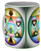 Christmas Tree - Gently Cross Your Eyes And Focus On The Middle Image Coffee Mug