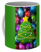Christmas Tree Cookie With Ornaments Coffee Mug