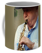 Christopher Mason Alto Sax Player Coffee Mug