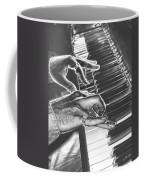 Chrome Piano Man Coffee Mug