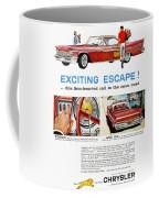 Chrysler Ad, 1959 Coffee Mug