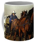 Rodeo Chuckwagon Racer Coffee Mug