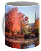 Church In Autumn Coffee Mug