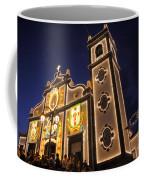 Church Lighting At Night Coffee Mug