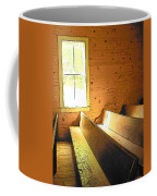 Church Pews - Light Through Window Coffee Mug