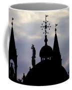 Church Spires Silhouettes Coffee Mug