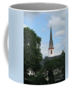 Church Steeple Coffee Mug by Arlene Carmel