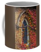 Church Window Autumn Coffee Mug