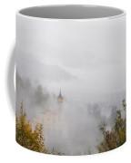 Church With Fog Coffee Mug