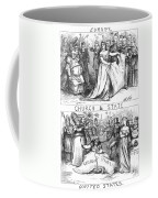 Church/state Cartoon, 1870 Coffee Mug