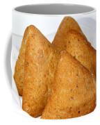 Ciabatta Buns In A Basket Coffee Mug