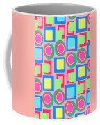 Circles And Squares Coffee Mug