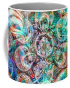 Circles Of Life Coffee Mug by Mo T