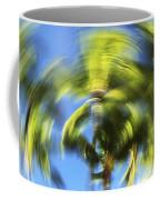 Circular Palm Blur Coffee Mug