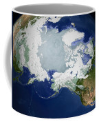 Circum-arctic Permafrost Coffee Mug