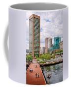 City - Baltimore Md - Harbor Place - Baltimore World Trade Center  Coffee Mug