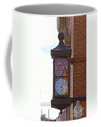 City Clock In Silver City Nm Coffee Mug