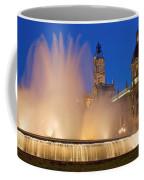 City Hall And Fountain At Dusk Coffee Mug