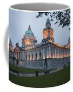 City Hall Illuminated Belfast, County Coffee Mug